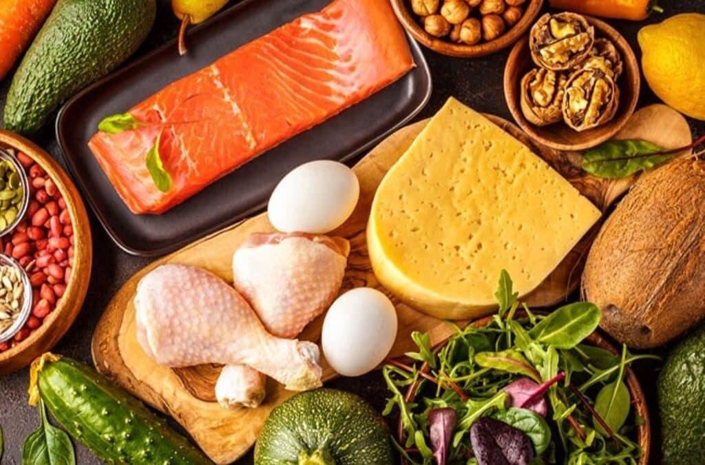Список продуктов для кето диеты