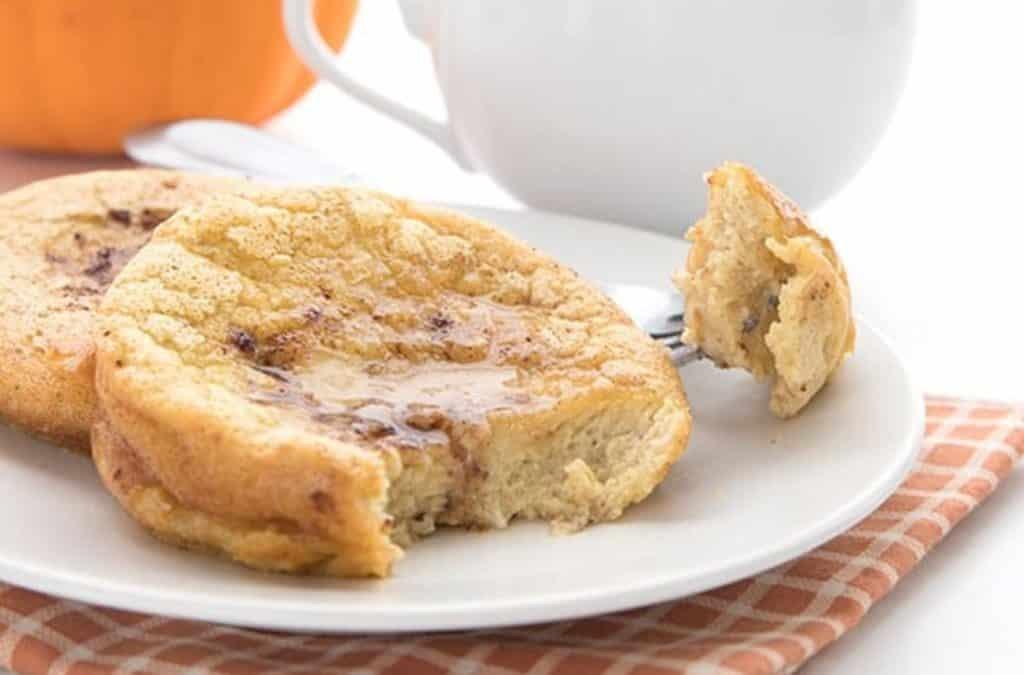 Яично-сырная булочка (с тыквой)