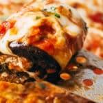 Кето рецепт - рулеты из баклажан
