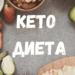 Кето диета - полное  руководство, меню и калькулятор